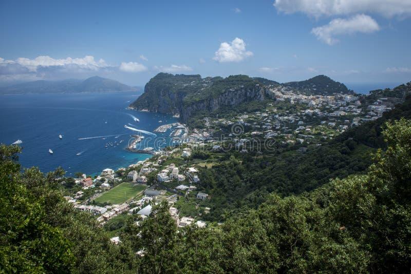 wyspa Włochy capri zdjęcie stock