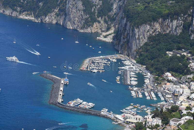 wyspa W?ochy capri obrazy royalty free