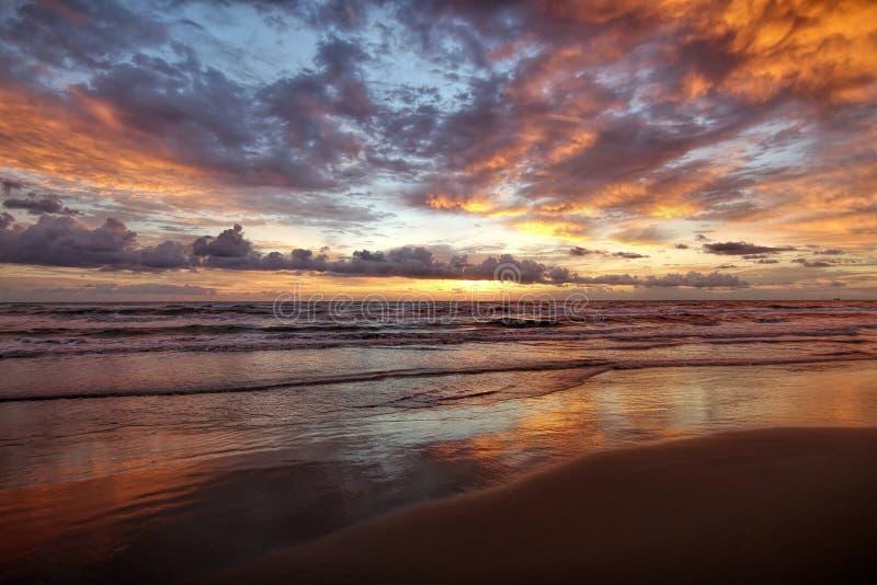 Wyspa wschód słońca zdjęcie royalty free