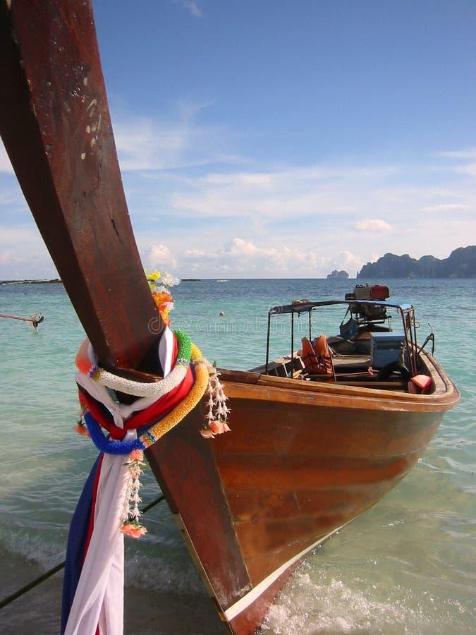 Wyspy łódkowatej Phi Długi Ogon Thailand Obrazy Stock
