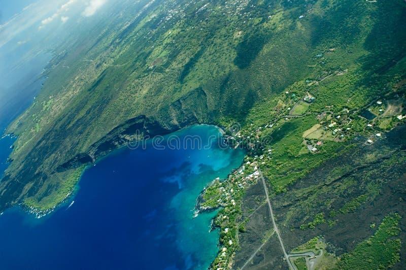 wyspy anteny bay kealakekua ważniaku zdjęcie stock