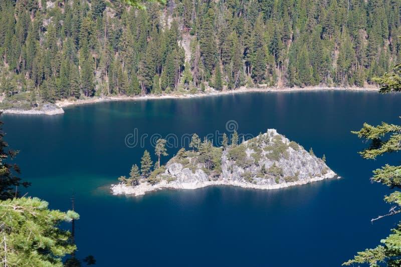wyspy góra jeziorna środkowa zdjęcie royalty free