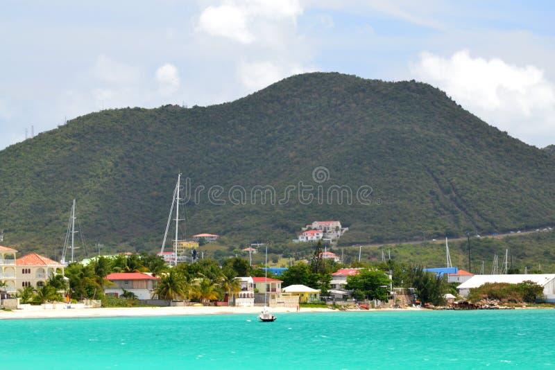 Wyspy Karaibskiej Góra zdjęcie royalty free