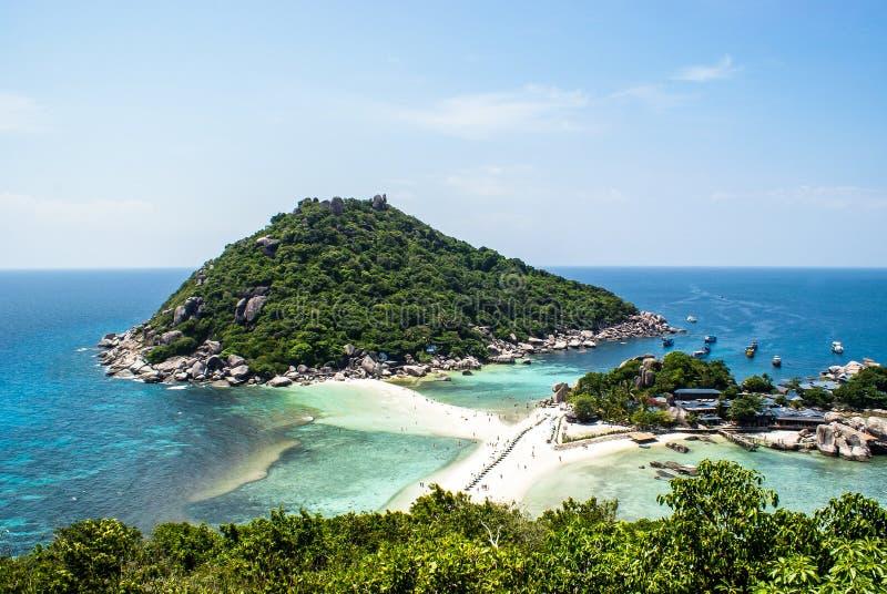 wyspy koh nang Surat Thailand Juan jeden s?awny pikowanie punkt w Thailand zdjęcia stock