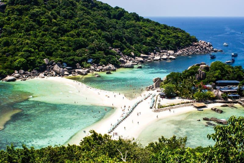 wyspy koh nang Surat Thailand Juan jeden s?awny pikowanie punkt w Thailand zdjęcia royalty free