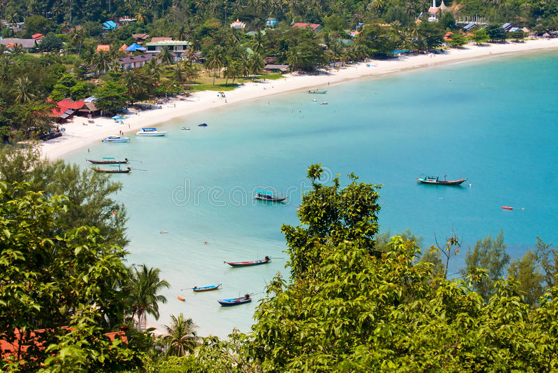Wyspy Koh Phangan, Tajlandia. obraz royalty free