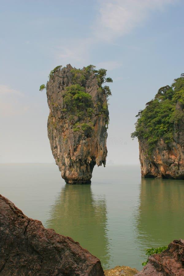 wyspy kpg phang Thailand obraz stock