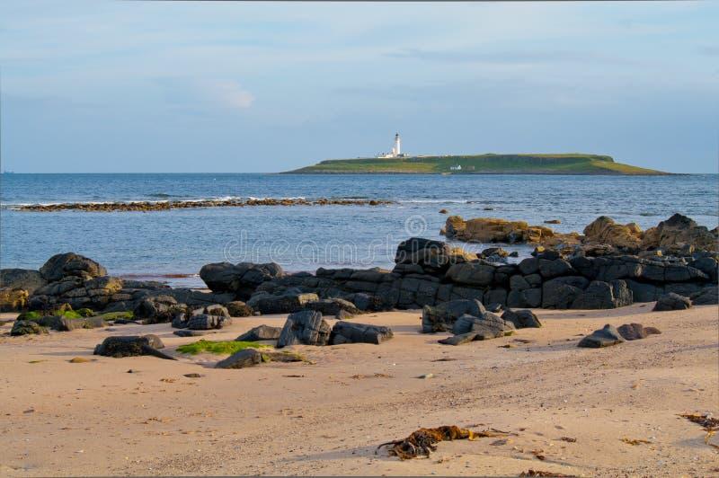 wyspy latarni morskiej pladda obrazy stock
