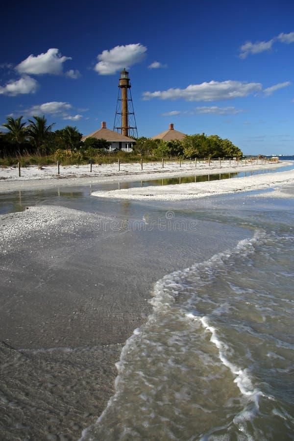 wyspy latarni morskiej sanibel obraz royalty free