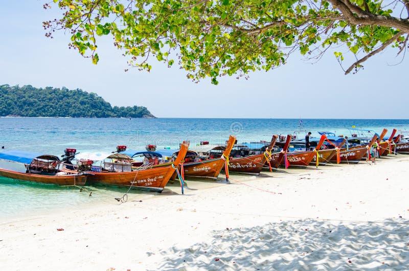 wyspy lipe Thailand zdjęcia stock