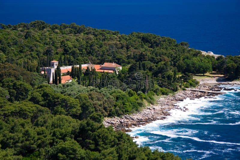 wyspy lokrum zdjęcia akcje zdjęcie royalty free