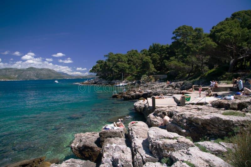 wyspy lokrum zdjęcia akcje obraz royalty free