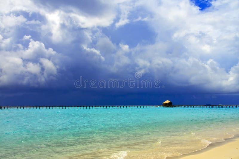 Download Wyspy Maldives ocean obraz stock. Obraz złożonej z lato - 13326277