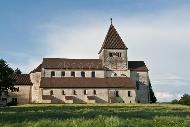 wyspy monastic reichenau obraz royalty free