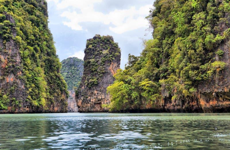 wyspy nga phang Thailand zdjęcia stock