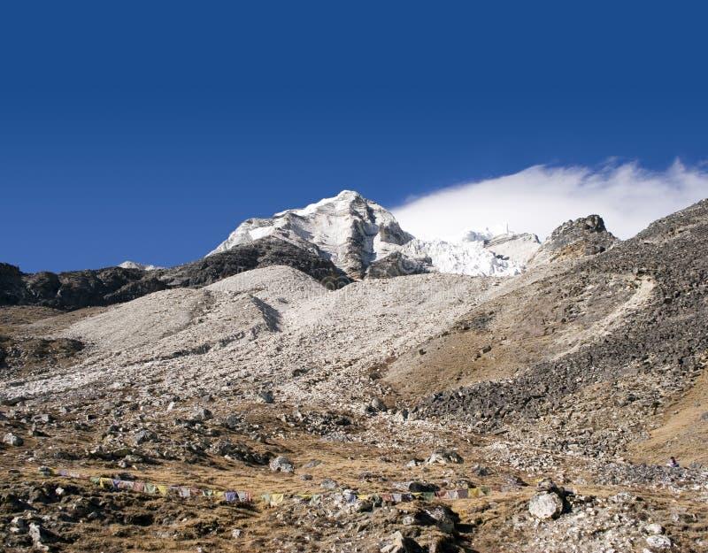 wyspy obozu Nepalu szczyt obrazy royalty free
