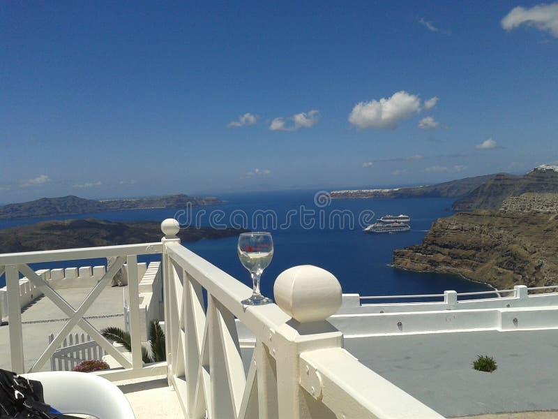 wyspy Oia santorini fotografia stock