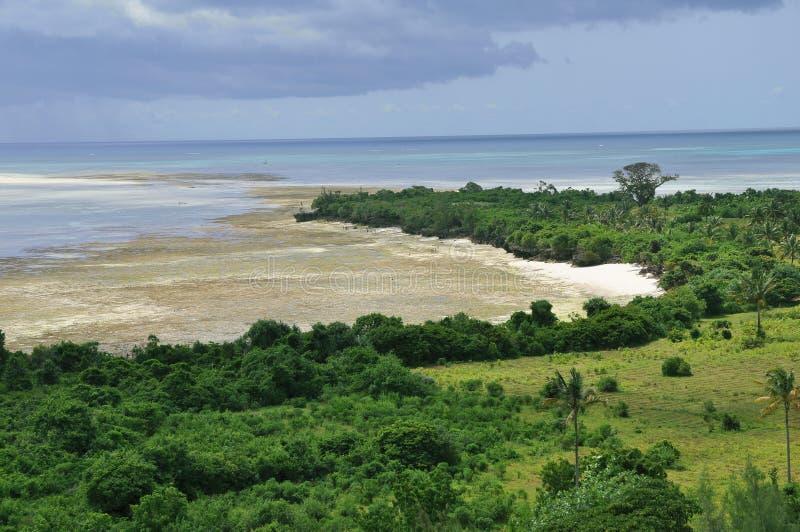wyspy pemba Zanzibar obrazy stock