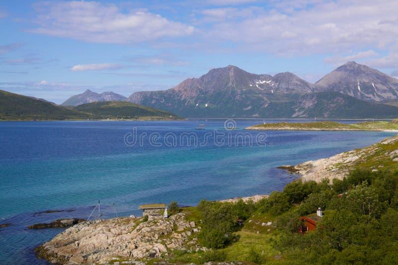 wyspy scenerii senja zdjęcie royalty free