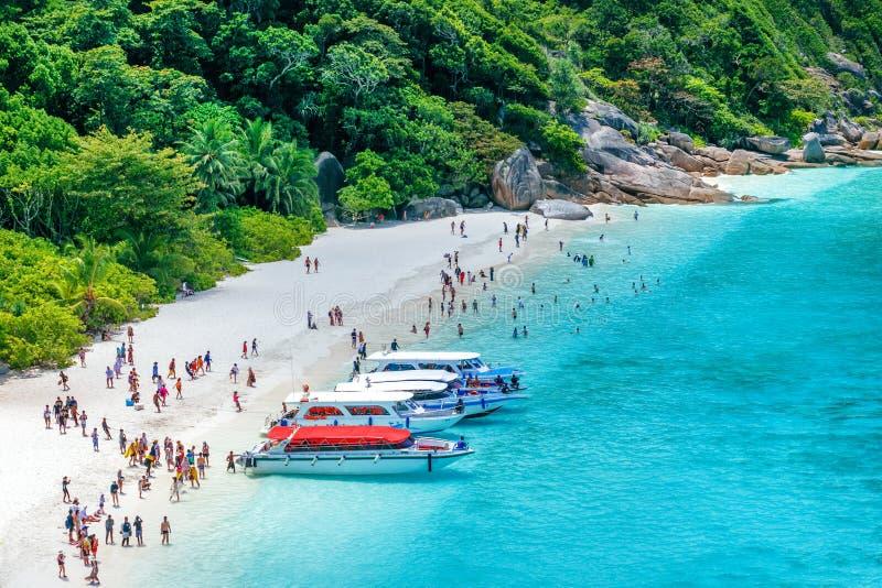 wyspy similan Thailand tropikalny krajobrazu Podr?? w Azja poj?ciu fotografia royalty free