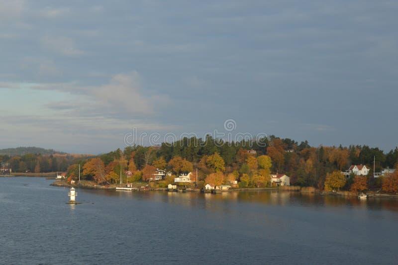 Wyspy Szwecja w morzu bałtyckim zdjęcie stock