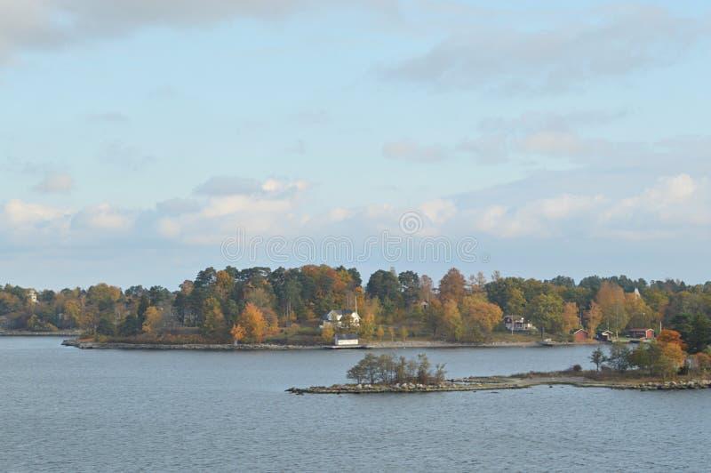 Wyspy Szwecja w morzu bałtyckim fotografia royalty free