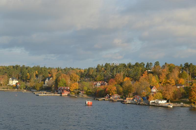 Wyspy Szwecja w morzu bałtyckim zdjęcie royalty free