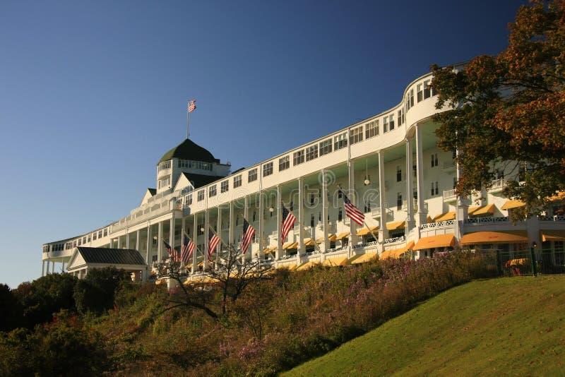 wyspy uroczysty hotelowy mackinac Michigan obraz royalty free