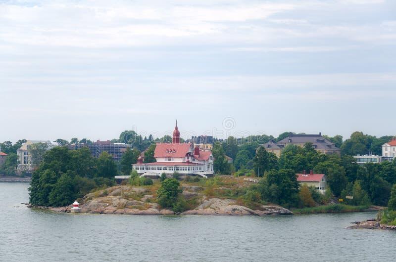 Wyspy w morzu bałtyckim zdjęcie stock