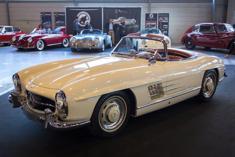 Wystawa antykwarscy samochody zdjęcie royalty free