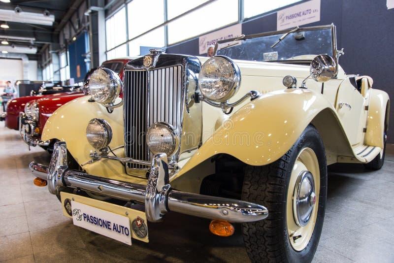Wystawa antykwarscy samochody zdjęcia royalty free