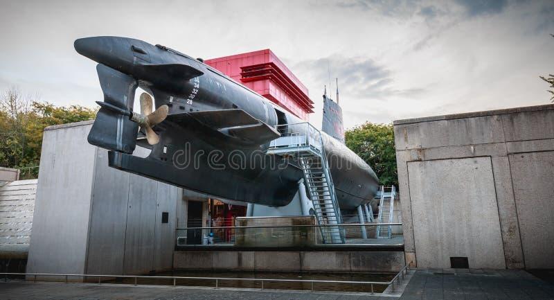 Wystawa Argonaute, Francuska łódź podwodna S636 obrazy royalty free