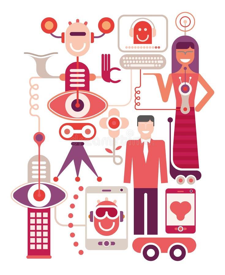 Wystawa nowomodne technologie ilustracji