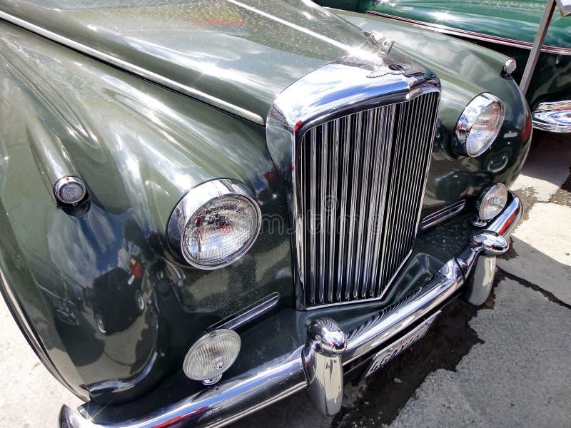 Wystawa retro samochody Samochodowy «Bentley S2 «, rok manufaktura 1962, pojemność 175 HP, Wielki Brytania obrazy stock