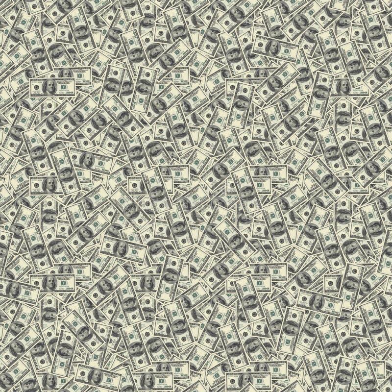 wystawia rachunek bezszwową teksturę ilustracja wektor