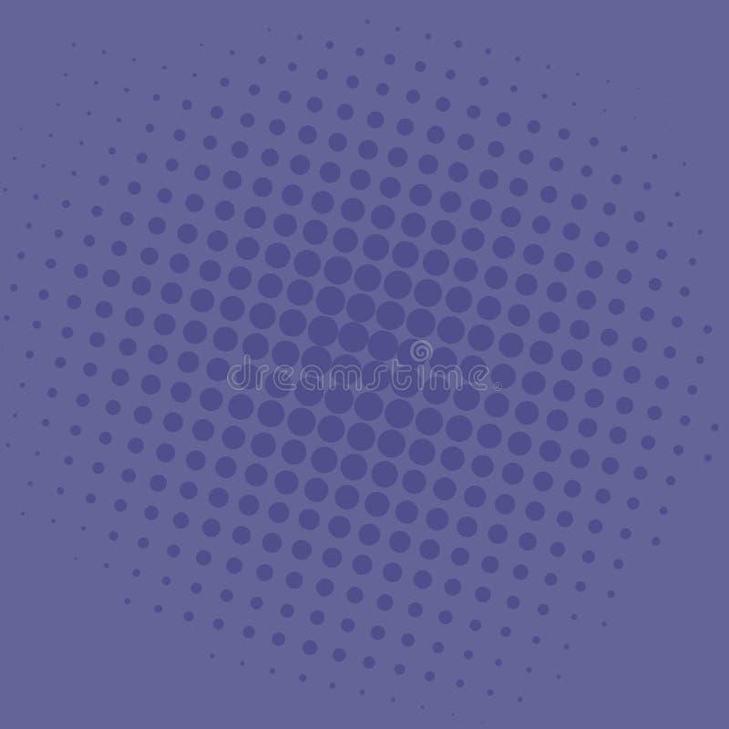 Wystrzał sztuki Fiołkowy błękit Kropkuje Komicznego tła szablonu Wektorowego projekt ilustracji