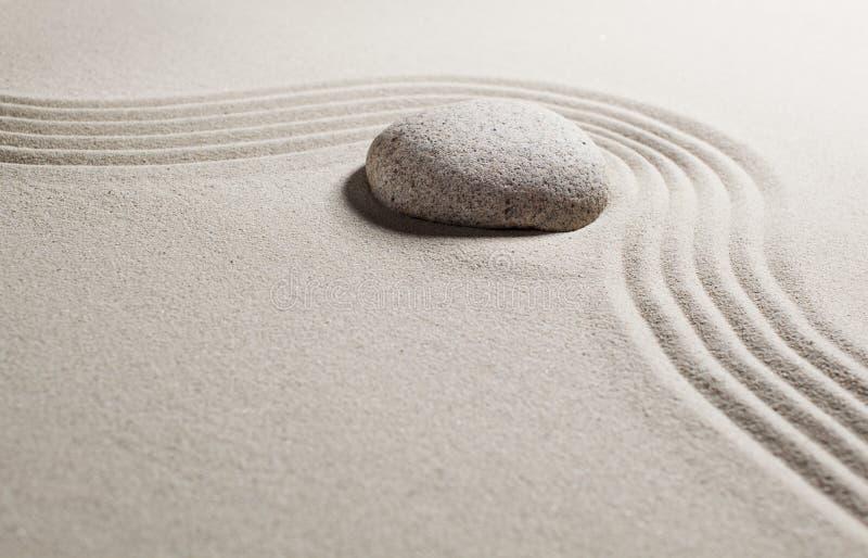 Wystrzeganie przeszkoda z zen mindset zdjęcie royalty free