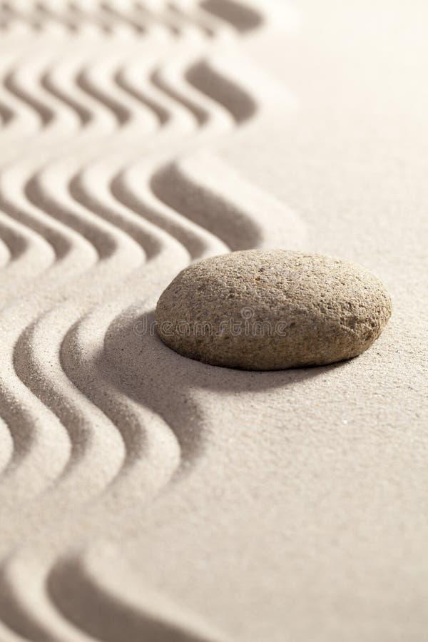 Wystrzeganie przeszkoda z zen postawą obraz stock