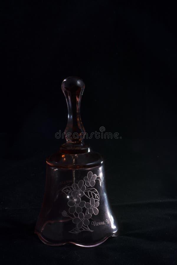Wystrzelony szklany dzwon zdjęcia stock