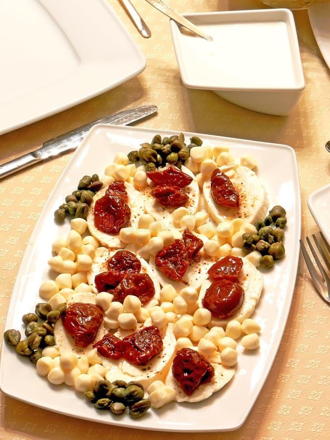 wysuszeni pomidory fotografia stock