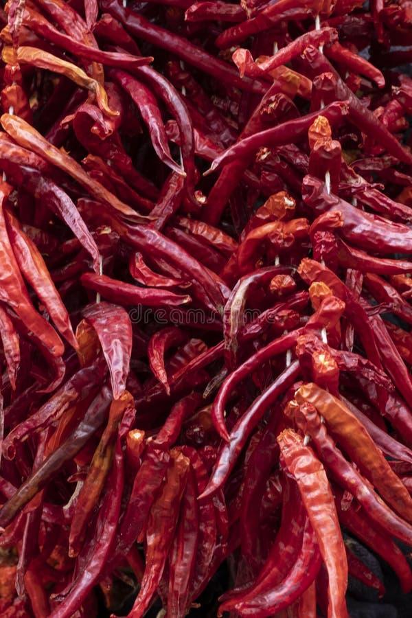 Wysuszeni warzywa w Gaziantep obrazy stock