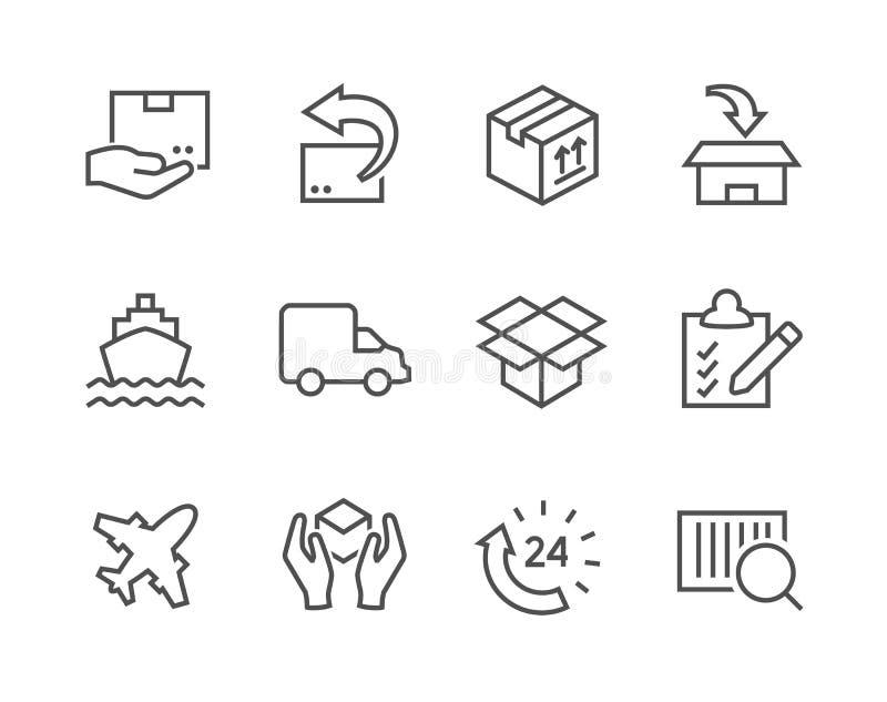 Wysyłek ikony