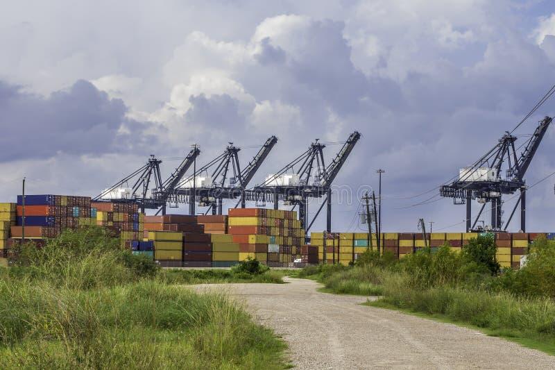 Download Wysyłka port obraz stock. Obraz złożonej z przemysłowy - 34075631
