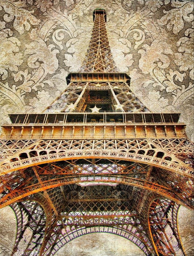 wyszczególnia parisian zdjęcie royalty free