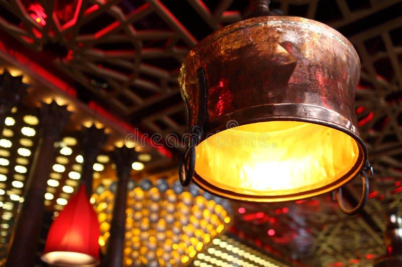 Wyszczególnia wnętrze kawiarnia zdjęcie royalty free
