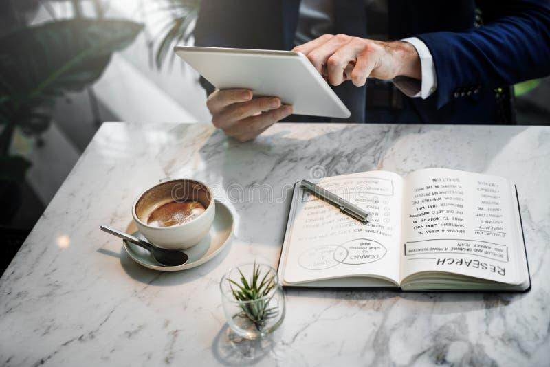 Wyszukiwać Biznesowego związku stylu życia miejsca pracy pojęcie obraz stock