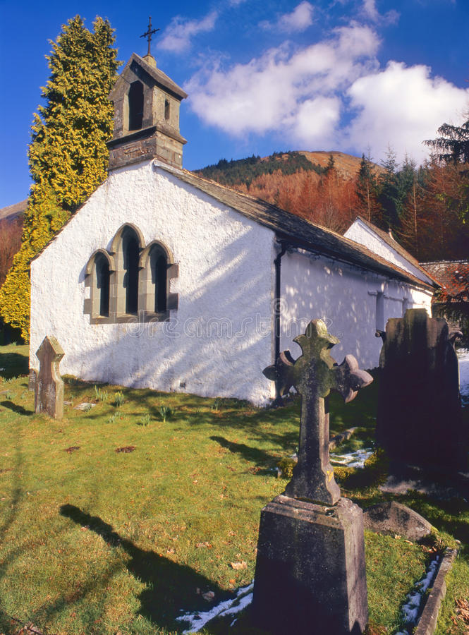 Download Wythburn Church, Thirlmere, Cumbria Stock Image - Image: 23280083