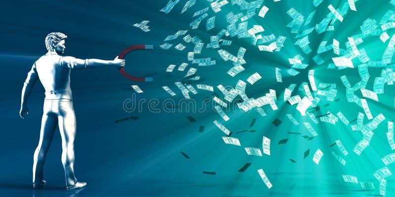 Wytwarza dochód royalty ilustracja