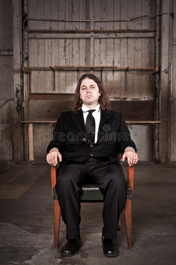 wywiadu pracy mafia zdjęcie stock