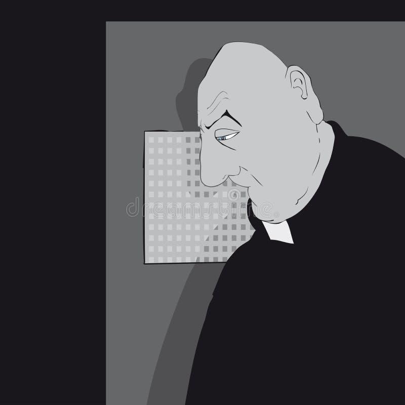 wyznanie ilustracja wektor